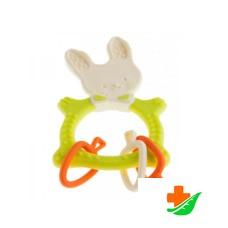 Прорезыватель ROXY-KIDS Bunny Teether RBT-001GN универсальный зеленый