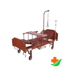 Кровать механическая MED-MOS YG-5 (ММ-5124Н-00) переворачивание, туалет, «кардиокресло»