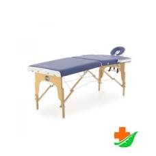 Массажный стол MED-MOS JF-AY01 переносной 2-х секционный складной деревянный