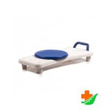 Сиденье для ванны ORTONICA Lux 330 синяя ручка, поворотное сиденье