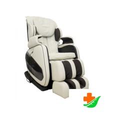 Массажное кресло GESS Bonn бежевое, L-образная каретка, нулевая гравитация