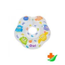 Круг на шею ROXY-KIDS Owl Сова для купания малышей 0-18кг