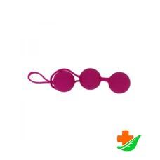 Тренажер Кегеля GESS RestArt Kegel Balls RA-302 розовые