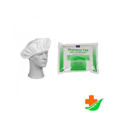 Шапочка с шампунем-кондиционером ABENA Shampoo cap для мытья волос БЕЗ ВОДЫ 1шт. в Барнауле