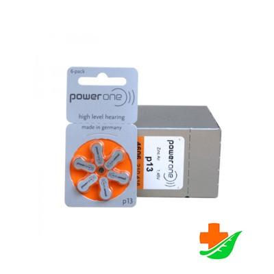 Батарейка Power one тип 13, 6шт