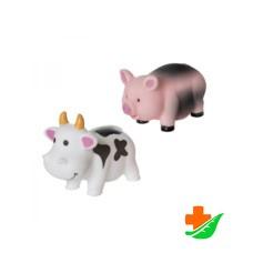 Набор игрушек для ванны КУРНОСИКИ 25050 «Игрушки-грязнушки» 2 шт
