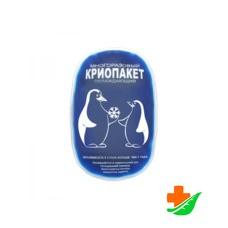 Криопакет ДЕЛЬТА-ТЕРМ Gelex гелевый охлаждающий (согревающий) 13х8см
