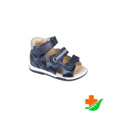 Сандалеты ортопедические TWIKI TW-138-13 с открытым носком синий камуфляж