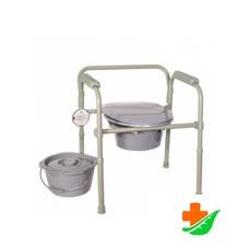 Кресло-туалет AMRUS AMCB6806 со спинкой до 100кг