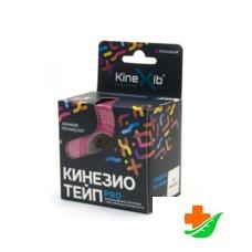 Бинт KINEXIB Кинезио-тейп Pro розовый 5смх5м