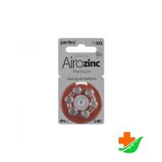 Батарейка для слуховых аппаратов PERFEO ZA312/6BL 6шт