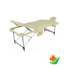 Массажный стол MED-MOS JFAL01A 3-секционный складной алюминиевый