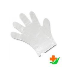 Перчатки ELEGREEN Premium одноразовые прозрачные ЭлП/М