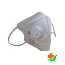 Респиратор FFP2 (FD 215 K1) медицинский одноразовый с клапаном уп. 2шт
