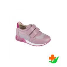 Полуботинки ортопедические TWIKI  TW-435-3 спортивные пепельно-розовые