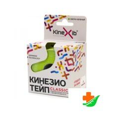 Бинт KINEXIB Кинезио-тейп лаймовый 5см*5м