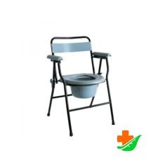 Кресло-туалет с санитарным оснащением МЕГА-ОПТИМ (42см) HMP-460 до100кг