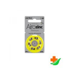 Батарейка для слуховых аппаратов PERFEO ZA10/6BL 6шт