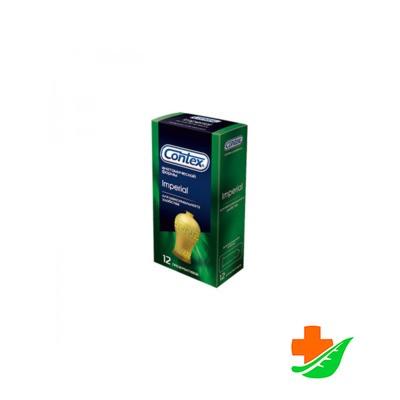 Презервативы CONTEX Imperial анатомической формы 12шт