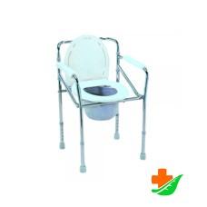 Кресло-туалет CAREMAX CA616 складное до 100 кг