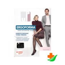 Чулки компрессионные ERGOFORMA EU 224 с закрытым носком унисекс 2 класс