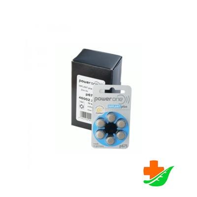 Батарейка Power one тип 675 (implant plus) 6шт в Барнауле