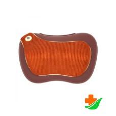 Подушка массажная GESS 131 uTenon для шеи и плеч 37x14x24см с акупунктурной накидкой