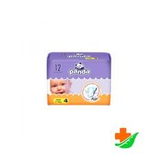 Подгузники детские BELLA Panda Maxi 4, вес 8-18кг, 12 шт