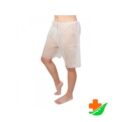 Шорты до колена нестерильные для процедур упаковка 5шт в Барнауле
