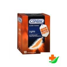 Презервативы CONTEX Lights Big Pack максимально чувствительные 18шт