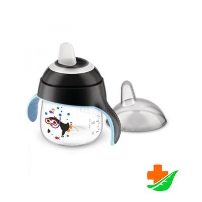 Чашка-непроливайка PHILIPS Avent SCF751/03 черная 200мл 6+ в Барнауле