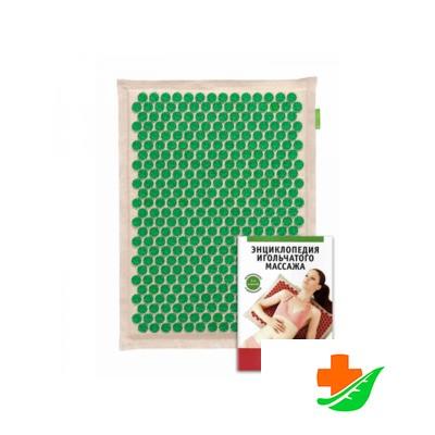 Аппликатор Кузнецова на мягкой подложке 41х60 см зеленый