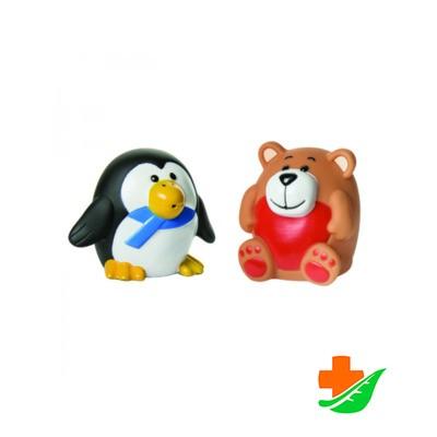 Набор игрушек для ванны КУРНОСИКИ 25080 «Зоопарк» 2 шт 6+