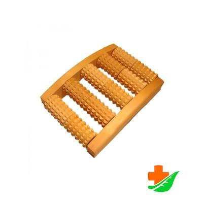 Массажер ТИМБЭ МА-4115 Счеты деревянный для стоп малый зубчатый в Барнауле