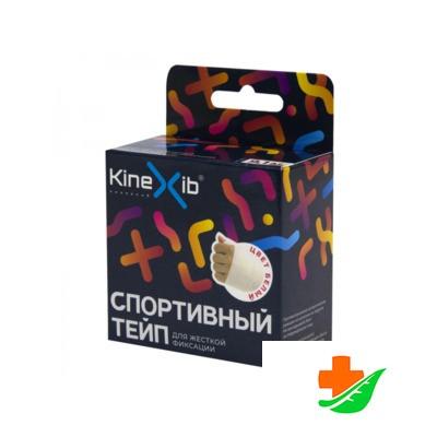 Кинезио-тейп СПОРТИВНЫЙ KINEXIB белый 3,8см*9,1м в Барнауле