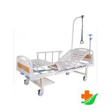 Кровать механическая MED-MOS E-8 (ММ-2014Н-00) с полкой и столиком
