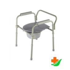 Кресло-туалет 10580 складное до 115кг