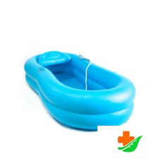Ванна надувная МЕГА-ОПТИМ TS-01 для мытья тела человека на кровати