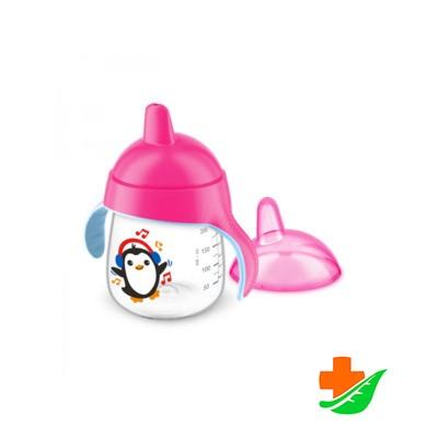 Чашка-поильник PHILIPS Avent SCF753/07 розовая 260мл 12+ в Барнауле